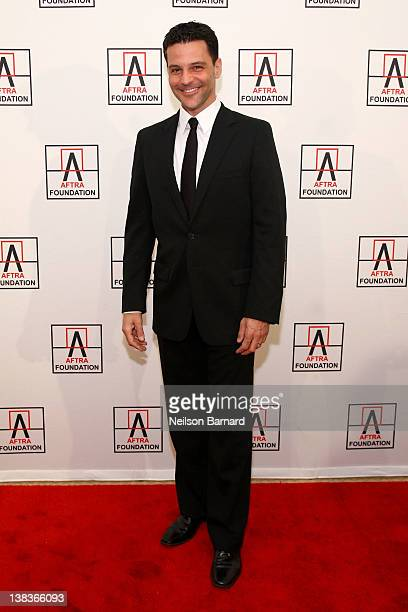 Actor David Alan Basche attends the AFTRA Foundation's 2012 AFTRA Media and Entertainment Excellence Awards in the Grand Ballroom at The Plaza Hotel...