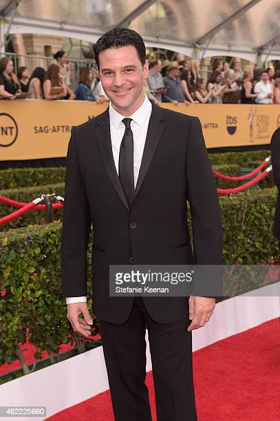 Actor David Alan Basche attends TNT's 21st Annual Screen Actors Guild Awards at The Shrine Auditorium on January 25 2015 in Los Angeles California...