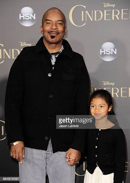 Actor David Alan Grier and daughter Luisa Danbi GrierKim attend the premiere of Cinderella at the El Capitan Theatre on March 1 2015 in Hollywood...