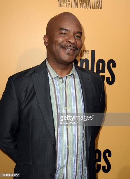 Actor David Alan Grier arrives at the premiere of 'Peeples' presented by Lionsgate Film and Tyler Perry at ArcLight Hollywood on May 8 2013 in...