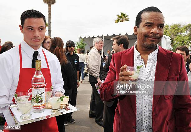 Actor David Alan Grier at Stoli at the 2008 Film Independent's Spirit Awards at the Santa Monica Pier on February 23, 2008 in Santa Monica,...