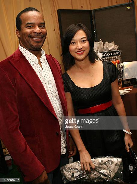 Actor David Alan Grier at the On3 Productions Lounge at Film Independent's 2008 Independent Spirit Awards at the Santa Monica Pier on February 23...