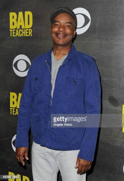 Actor David Alan Grier attends a CBS Sony premiere event to kick off the new comedy series 'Bad Teacher' at Pink Taco on April 10 2014 in Los Angeles...
