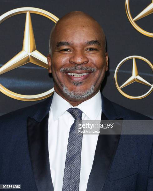 Actor David Alan Grier attends MercedezBenz USA's official Awards viewing party at The Four Seasons Hotel Los Angeles at Beverly Hills on March 4...