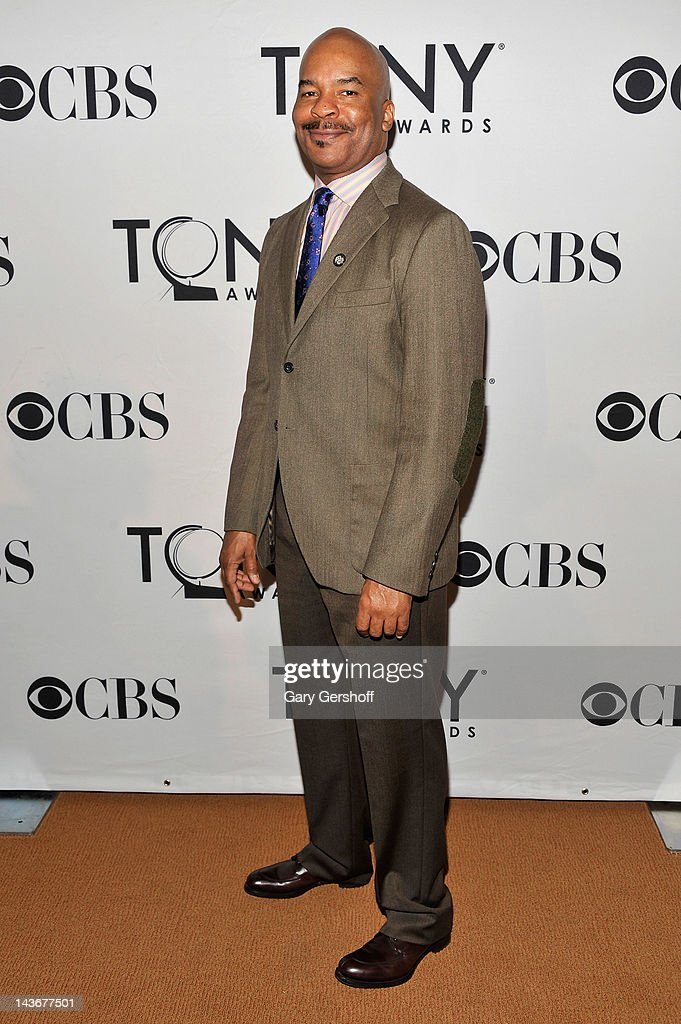 Actor David Alan Grier attends the 2012 Tony Awards - Meet The Nominees Press Reception at Millennium Broadway Hotel on May 2, 2012 in New York City.
