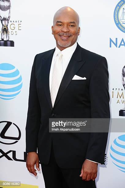 Actor David Alan Grier attends the 47th NAACP Image Awards presented by TV One at Pasadena Civic Auditorium on February 5 2016 in Pasadena California