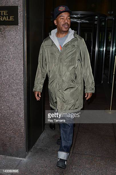 Actor David Alan Grier leaves the Sirius XM Studios on April 24 2012 in New York City