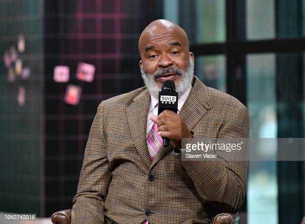 Actor David Alan Grier visits Build Series to discuss FOX's sitcom The Cool Kids at Build Studio on September 28 2018 in New York City