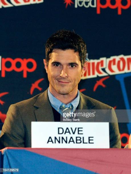 Actor David Annable attends the 666 Park Avenue Presentation and Q A at the 2012 New York Comic Con at the Javits Center on October 14 2012 in New...
