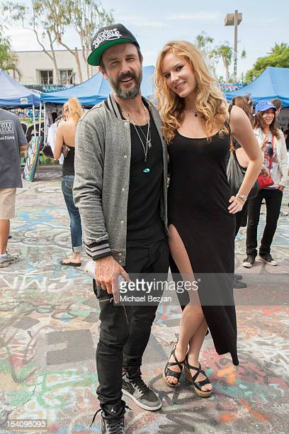 Actor David Arquette and Actress Charlotte Kirk attend David Arquette's Piece Fest a music and street festival to benefit Pico Union Housing Corp and...