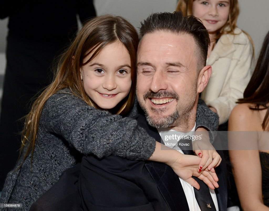 Actor David Arquette (R) and Coco Arquette attend The Art of Elysium's 6th Annual HEAVEN Gala presented by Audi at 2nd Street Tunnel on January 12, 2013 in Los Angeles, California.
