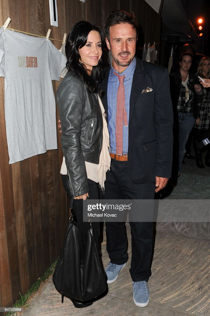 David Arquette Hosts Launch Party For New Darfur Awareness T-Shirt Line