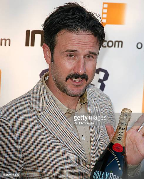 Actor David Arquette arrives at the 6th annual HollyShorts film festival opening night celebration at Laemmle Sunset 5 Theatre on August 5, 2010 in...