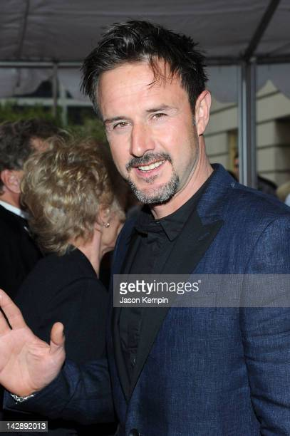 Actor David Arquette attends the 27th Annual Rock And Roll Hall Of Fame Induction Ceremony at Public Hall on April 14, 2012 in Cleveland, Ohio.