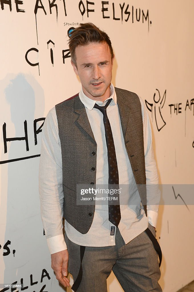 Actor David Arquette attends the Art Of Elysium's 6th Annual Pieces Of Heaven powered by Ciroc Ultra Premium Vodka at the Ace Museum on February 20, 2013 in Los Angeles, California.