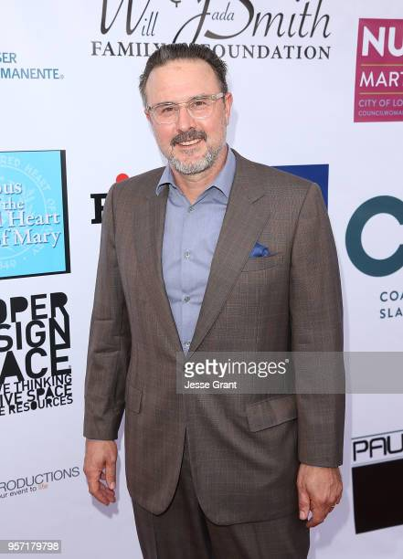 """Actor David Arquette attends the Coalition to Abolish Slavery and Trafficking's 20th Annual """"From Slavery To Freedom Gala"""" at City Market Social..."""