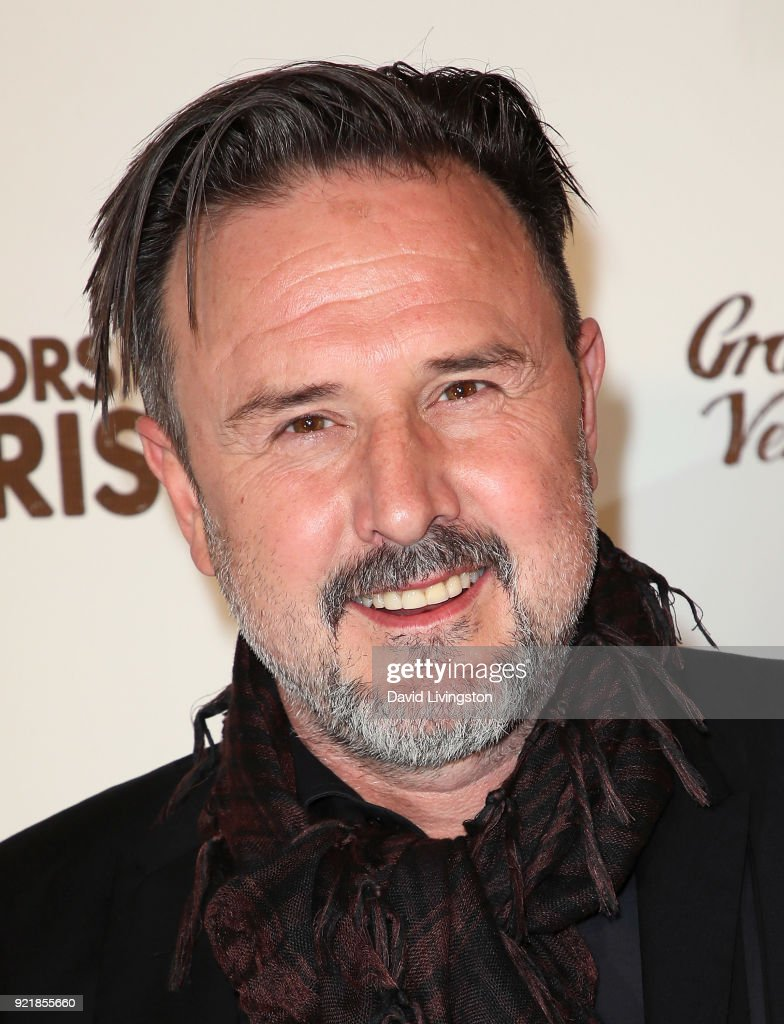 Actor David Arquette attends the premiere of Gravitas Pictures' 'Survivors Guide to Prison' at The Landmark on February 20, 2018 in Los Angeles, California.