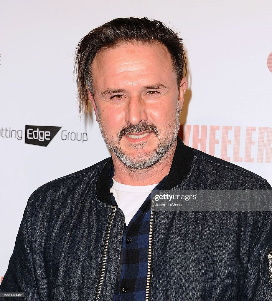 Actor David Arquette attends the premiere of 'Wheeler' at the Vista Theatre on January 30, 2017 in Los Angeles, California.
