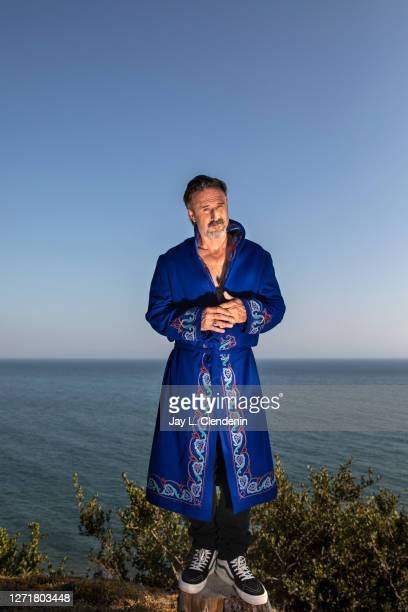 Actor David Arquette is photographed for Los Angeles Times on August 27, 2020 in Pacific Palisades, California. PUBLISHED IMAGE. CREDIT MUST READ:...