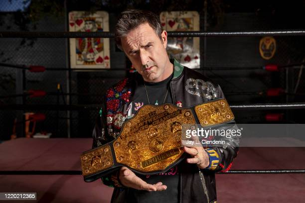 Actor David Arquette is photographed for Los Angeles Times on March 7, 2020 in Encino, California. PUBLISHED IMAGE. CREDIT MUST READ: Jay L....