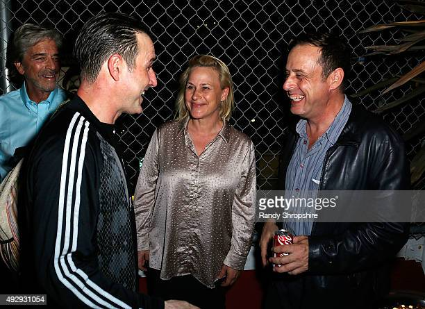 Actor David Arquette Patricia Arquette and Richmond Arquette attend the after party for the opening night of Sir Arthur Conan Doyle's Sherlock Holmes...