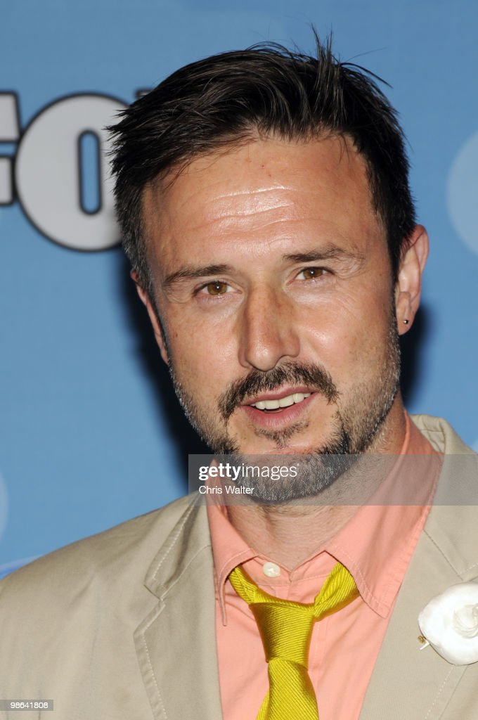 Actor David Arquette poses in the press room at Idol Gives Back at Pasadena Civic Center on April 21, 2010 in Pasadena, California.