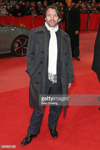 Actor David Bennent arrives for the closing ceremony of the 67th Berlinale International Film Festival Berlin at Berlinale Palace on February 18 2017...