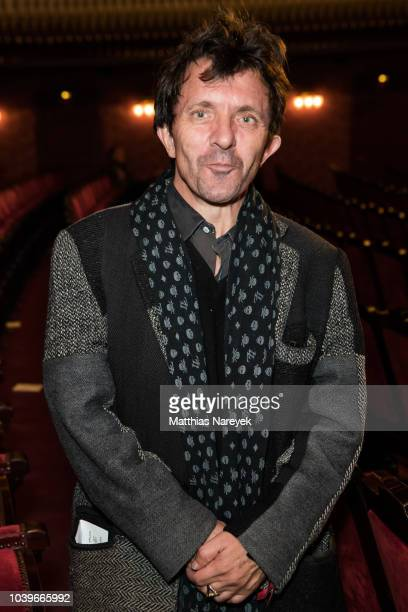 Actor David Bennent attends the First Steps Awards 2018 at Theater des Westens on September 24 2018 in Berlin Germany