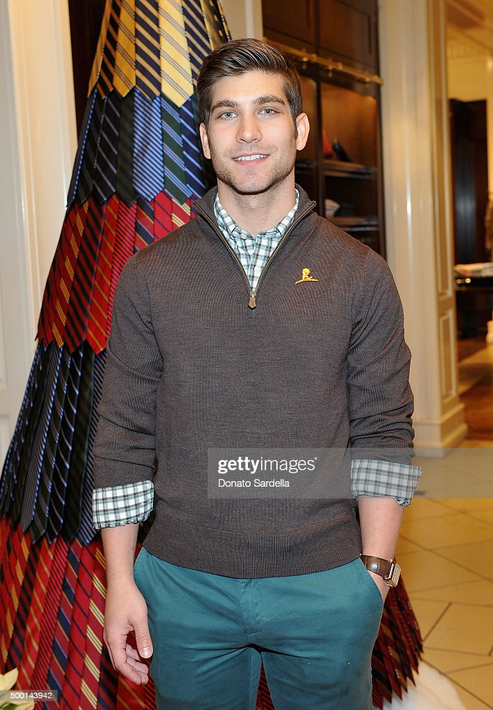 Actor David Bernon attends the Brooks Brothers holiday party with St Jude Children's Research Hospital at Brooks Brothers on Rodeo Drive on December 5, 2015 in Beverly Hills, California.