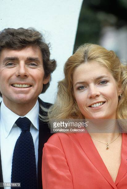 Actor David Birney and actress Meredith Baxter pose for a portrait in circa 1985 in Los Angeles California