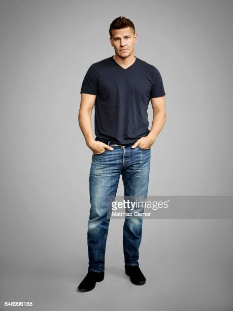 Actor David Boreanaz from 'Bones' is photographed for Entertainment Weekly Magazine on July 22 2016 at Comic Con in the Hard Rock Hotel in San Diego...