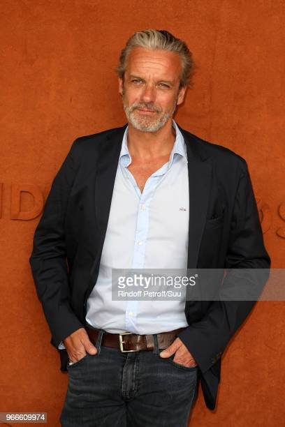 Actor David Brecourt attends the 2018 French Open Day Eight at Roland Garros on June 3 2018 in Paris France