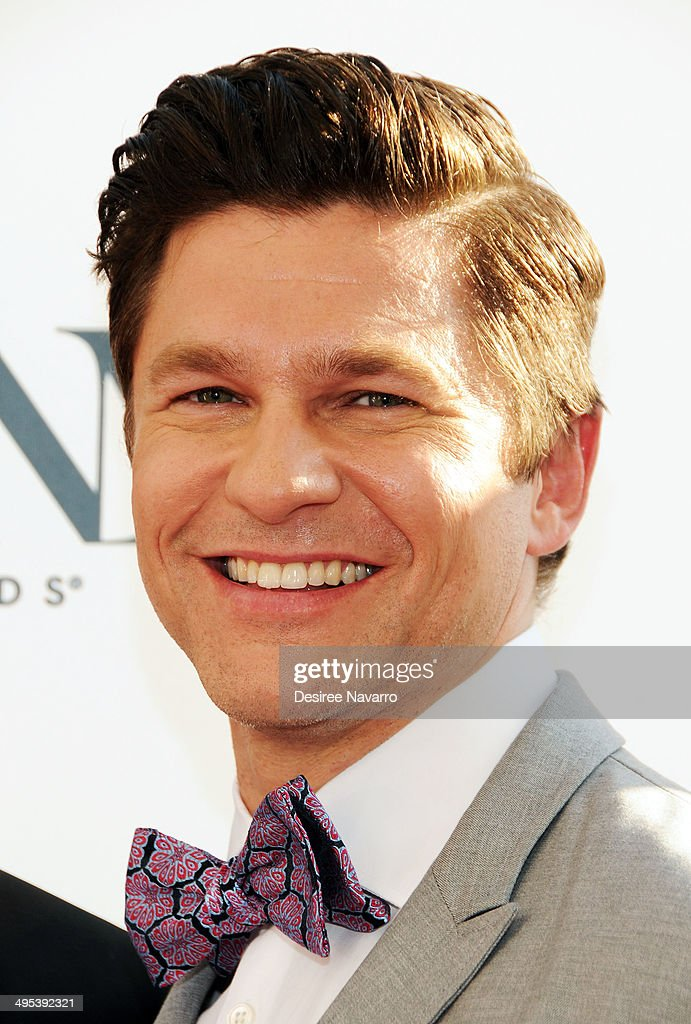 Actor David Burtka attends the 2014 Tony Honors Cocktail Party at Paramount Hotel on June 2, 2014 in New York City.