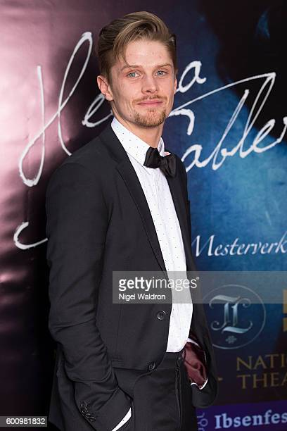 Actor David Butler attends the Norwegian premiere of Hedda Gabler held at the Vika Cinema on September 08 2016 in Oslo Norway