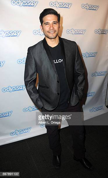 Actor David Carreno arrives for the Reading Of 'The Blade Of Jealousy/La Celsa De Misma' held at The Odyssey Theatre on August 29 2016 in Los Angeles...