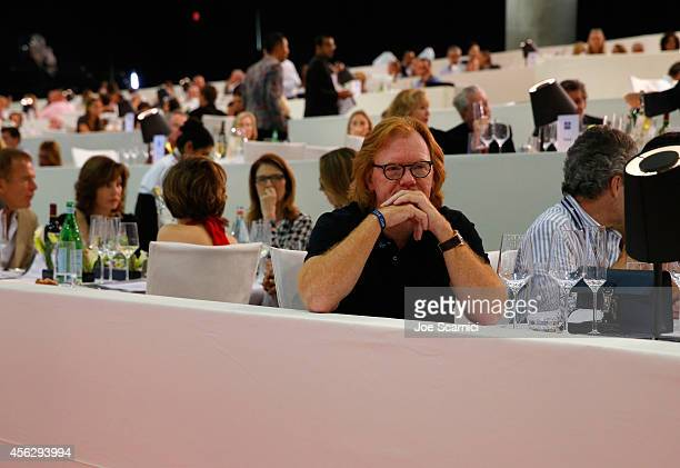 Actor David Caruso attends the Longines Grand Prix class event during the Longines Los Angeles Masters at Los Angeles Convention Center on September...