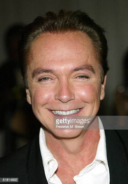 Actor David Cassidy attends the Sixth Annual Family Television Awards at the Beverly Hilton Hotel on December 1, 2004 in Beverly Hills, California.
