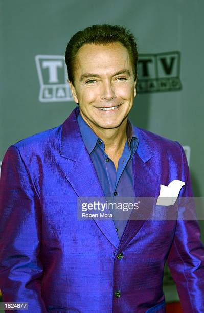 Actor David Cassidy attends the TV Land Awards 2003 at the Hollywood Palladium on March 2, 2003 in Hollywood, California.
