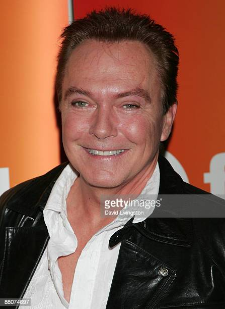 """Actor David Cassidy from the television show """"Ruby and the Rockits"""" attends the 2009 Disney & ABC Television Group summer press junket at the Walt..."""