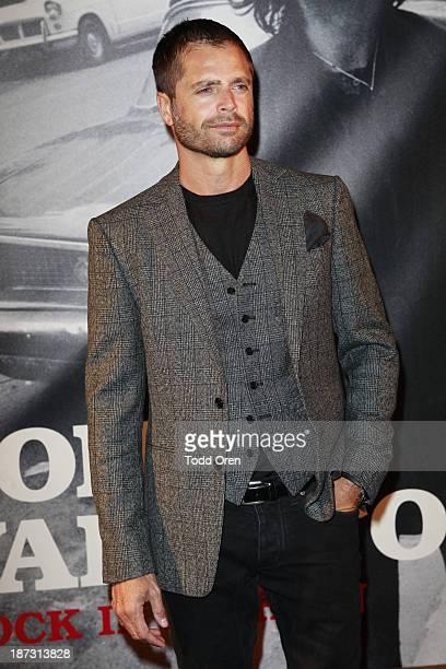 Actor David Charvet arrives to the John Varvatos Rock In Fashion book launch celebration held at John Varvatos Los Angeles on November 7 2013 in Los...