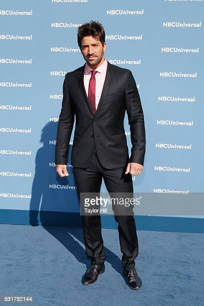 Actor David Chocarro of 'La Dona' on Telemundo attends the NBCUniversal 2016 Upfront on May 16 2016 in New York New York