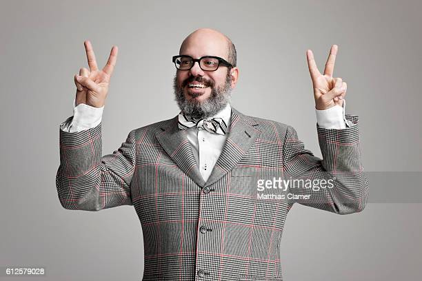 Actor David Cross is photographed for Playboy Magazine on November 21 2011