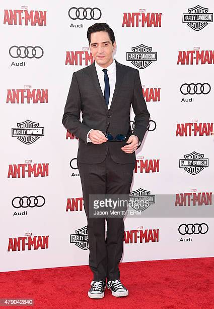 Actor David Dastmalchian arrives at the Los Angeles Premiere of Marvel Studios 'AntMan' at Dolby Theatre on June 29 2015 in Hollywood California