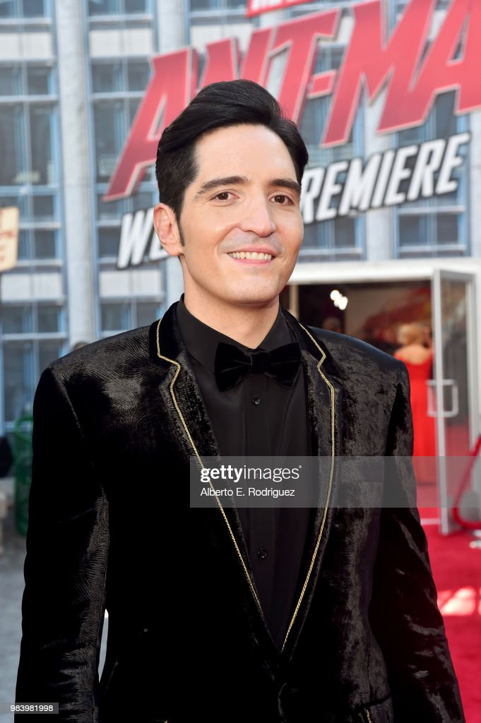 Actor David Dastmalchian attends the Los Angeles Global Premiere for Marvel Studios' 'Ant-Man And The Wasp' at the El Capitan Theatre on June 25, 2018 in Hollywood, California.