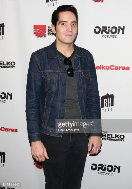 Actor David Dastmalchian attends the screening of The Belko Experiment at Aero Theatre on March 3 2017 in Santa Monica California