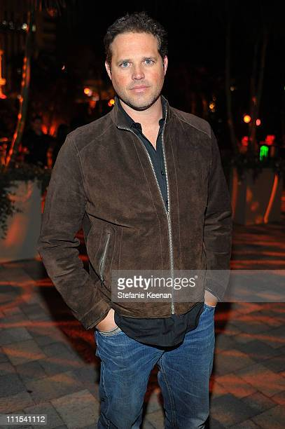 """Actor David Denman attends the grand opening of """"Pandora"""" at Vibiana on October 27, 2009 in Los Angeles, California."""