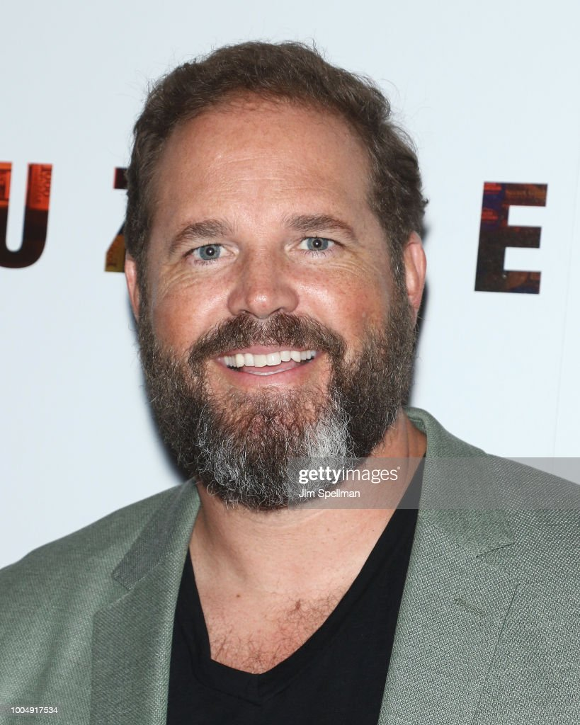 Actor David Denman attends the screening of 'Puzzle' hosted by Sony Pictures Classics and The Cinema Society at The Roxy Cinema on July 24, 2018 in New York City.