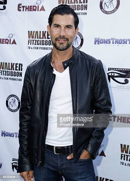 Actor David DeSantos attends the 2014 Etheria Film Night at American Cinematheque's Egyptian Theatre on July 12 2014 in Hollywood California