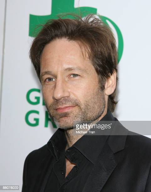 Actor David Duchovny arrives to the Global Green USA's 13th Annual Millennium Awards held at the Fairmont Miramar Hotel on May 30 2009 in Santa...