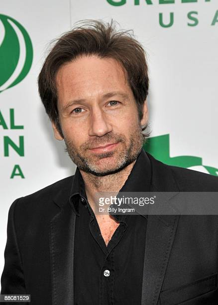 Actor David Duchovny attends Global Green USA's 13th Annual Millennium Awards at the Fairmont Miramar Hotel on May 30 2009 in Santa Monica California